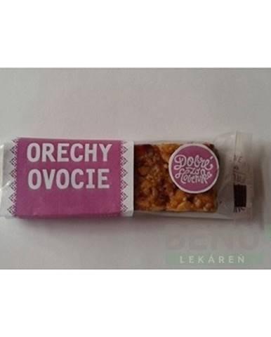 DOBRÉ ZO SLOVENSKA Tyčinka orechy ovocie 40 g