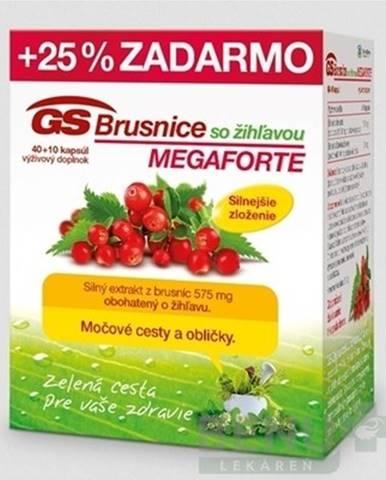 GS Brusnice so žihľavou megaforte 40 + 10 tabliet ZADARMO