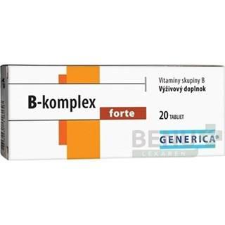 GENERICA B-komplex forte 20 tabliet
