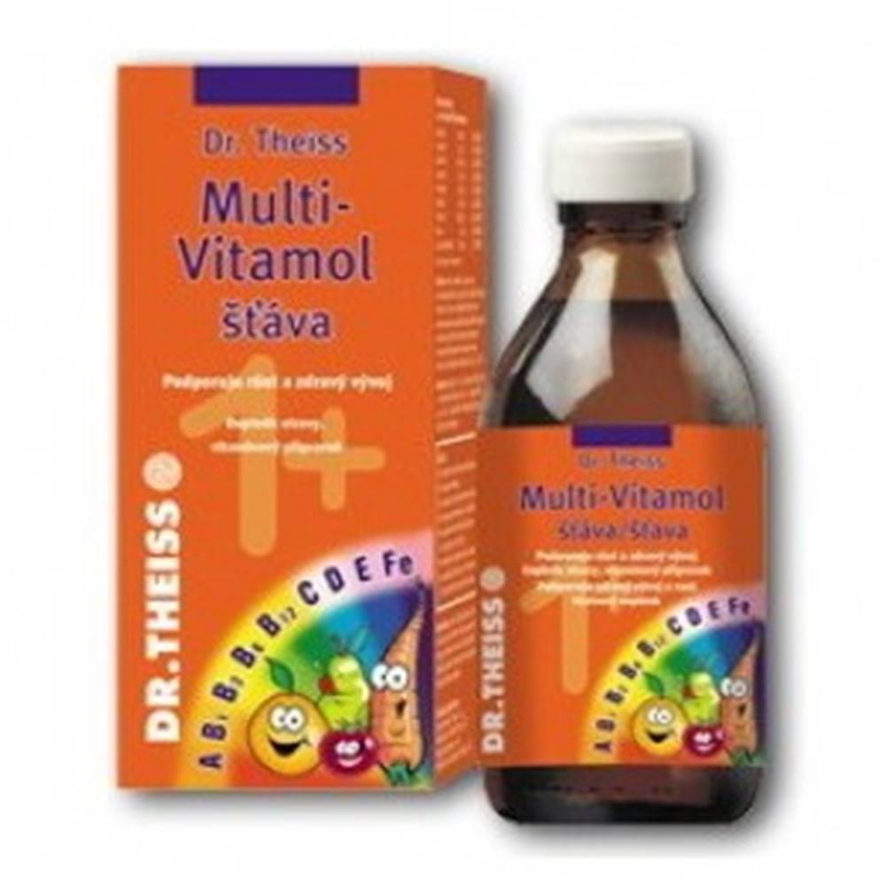Dr. Theiss DR. THEISS Multi-vitamol šťava 1+ 200 ml