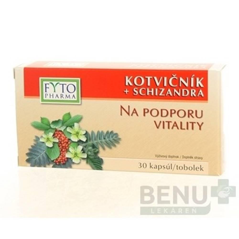 FYTO FYTO Kotvičník + schizandra 30 kapsúl