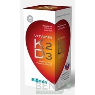 BIOMIN Vitamín K2 + D3 protect 30 kapsúl