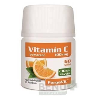 PARGAVIT Vitamín C pomaranč 90 tabliet