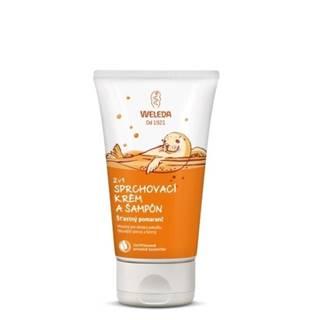 WELEDA 2v1 Sprchový krém a šampón 150 ml