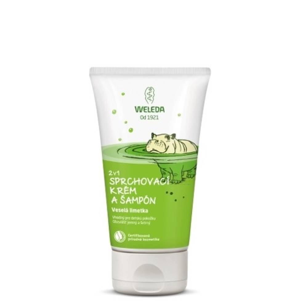 Weleda WELEDA 2v1 Sprchový krém a šampón veselá limetka 150 ml
