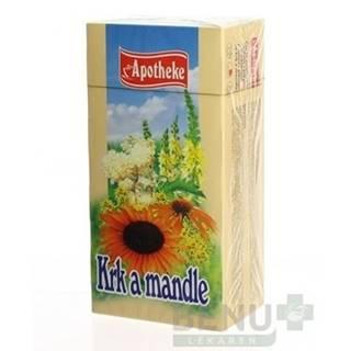 APOTHEKE Čaj na krk a mandle 20 x 1,5 g
