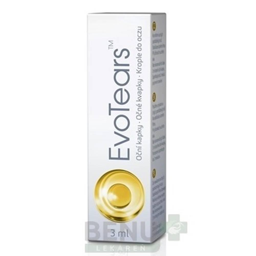 EvoTears EVOTEARS očné kvapky 3 ml