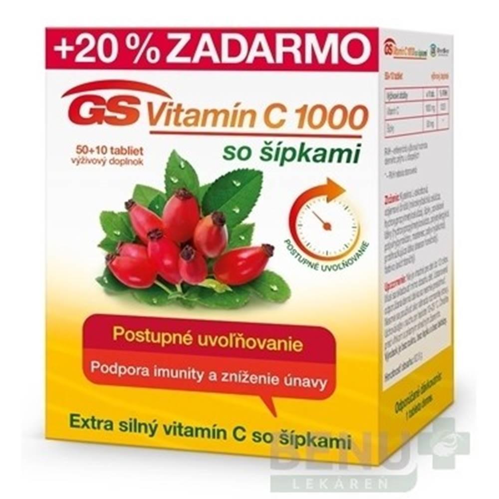 Green swan GS Vitamín C 1000 so šípkami 2016 tbl 50+10