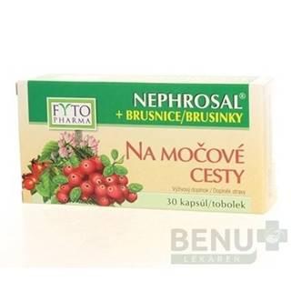 FYTO Nephrosal + brusnice na močové cesty 30 kapsúl