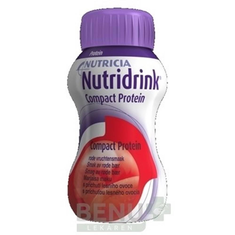 Nutridrink NUTRIDRINK COMPACT PROTEIN s príchuťou lesného ovocia 24x125 ml 24x125ml