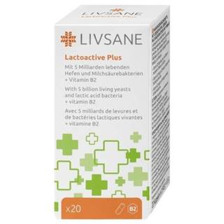 LIVSANE Laktoaktívne kapsuly plus vitamín B2 20 kapsúl