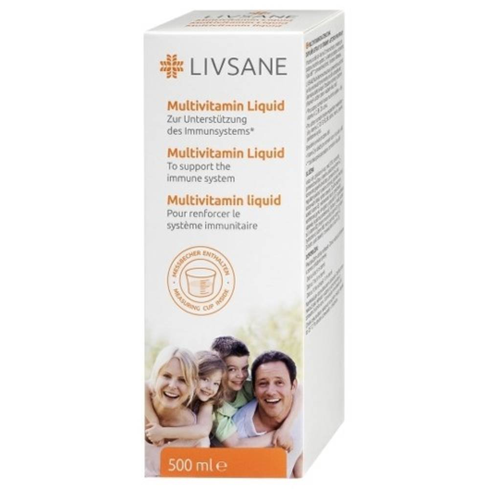 LIVSANE LIVSANE Multivitamínová tekutina 500 ml