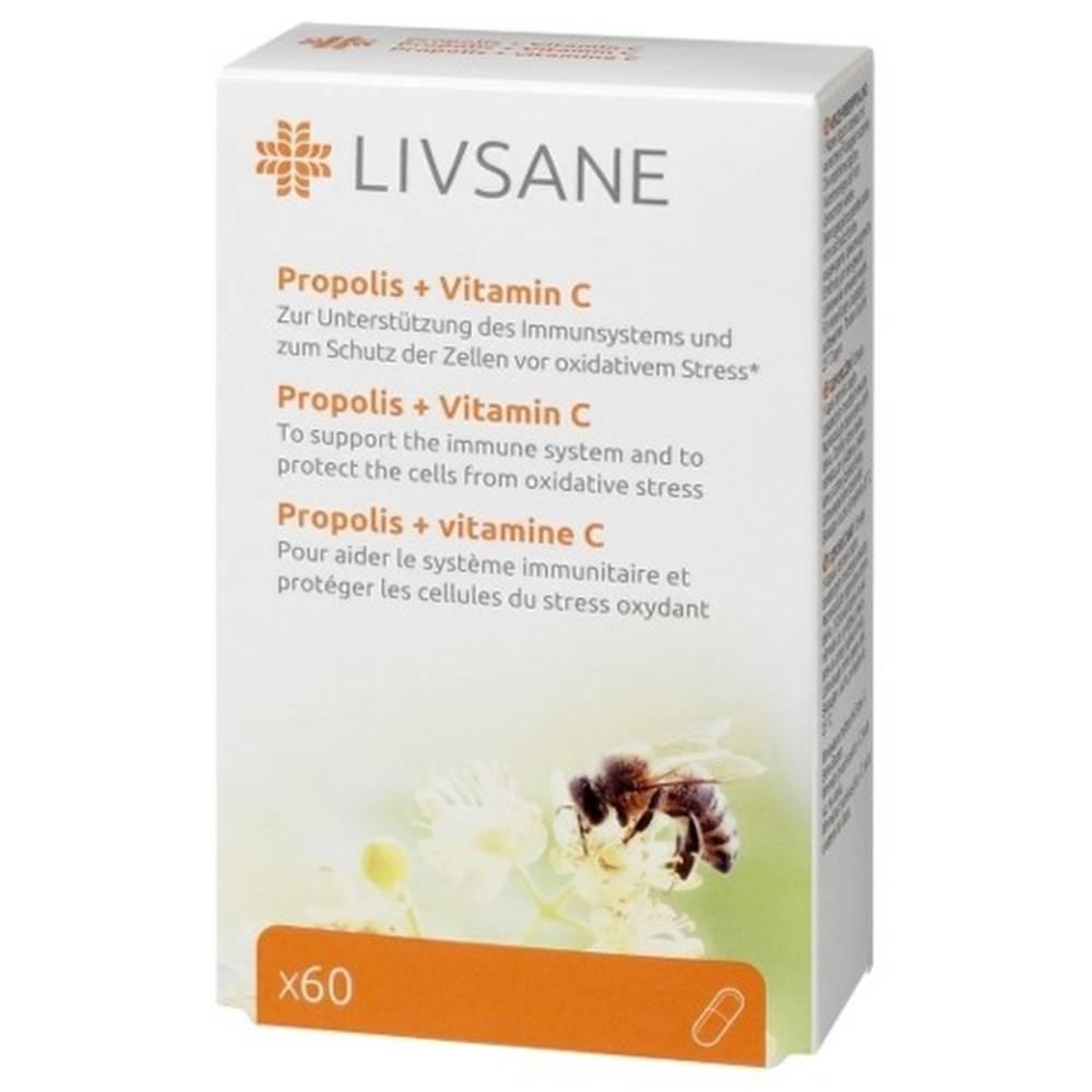 LIVSANE LIVSANE Propolis + vitamín C 60 tabliet