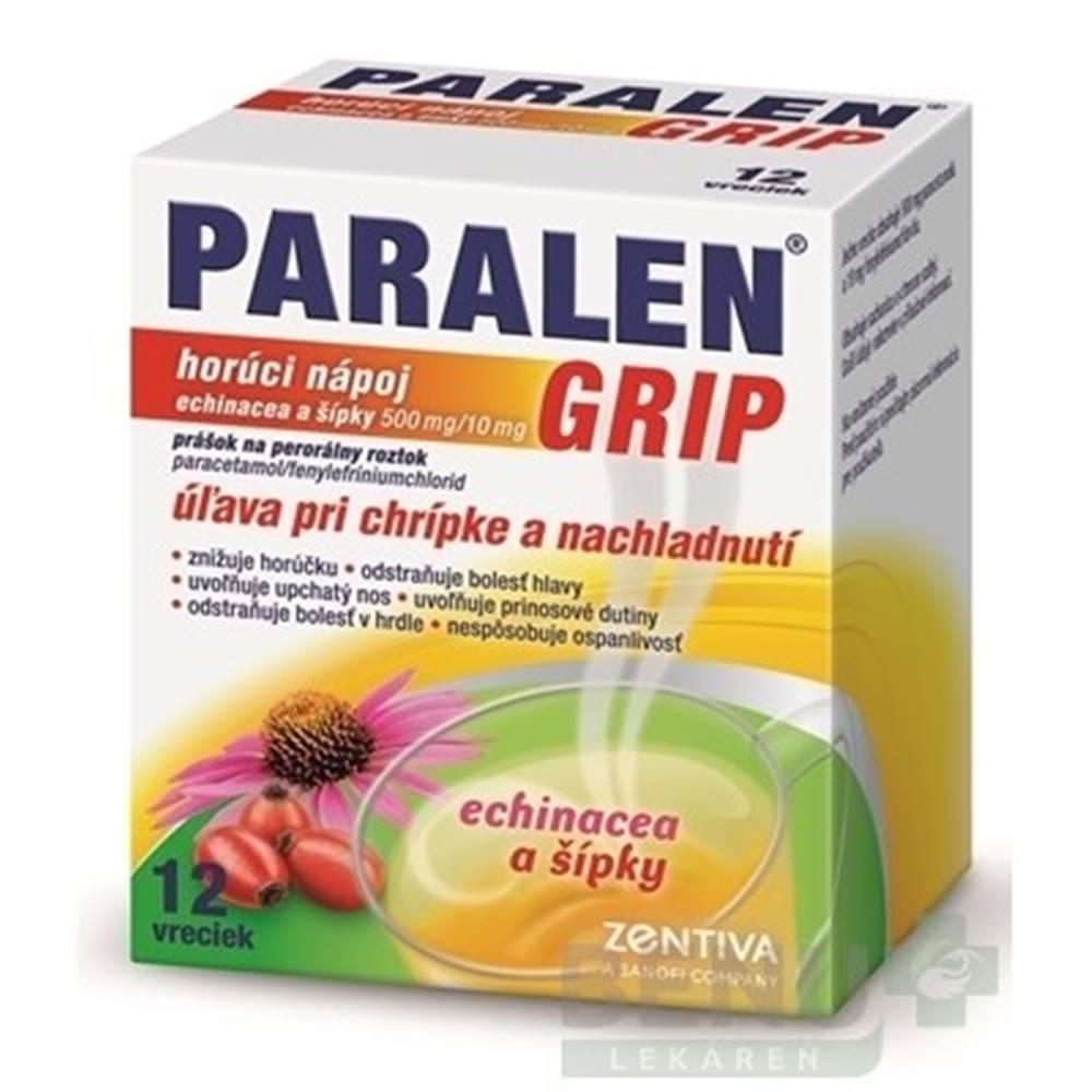 PARALEN PARALEN GRIP horúci nápoj echinacea a šípky 12 vreciek