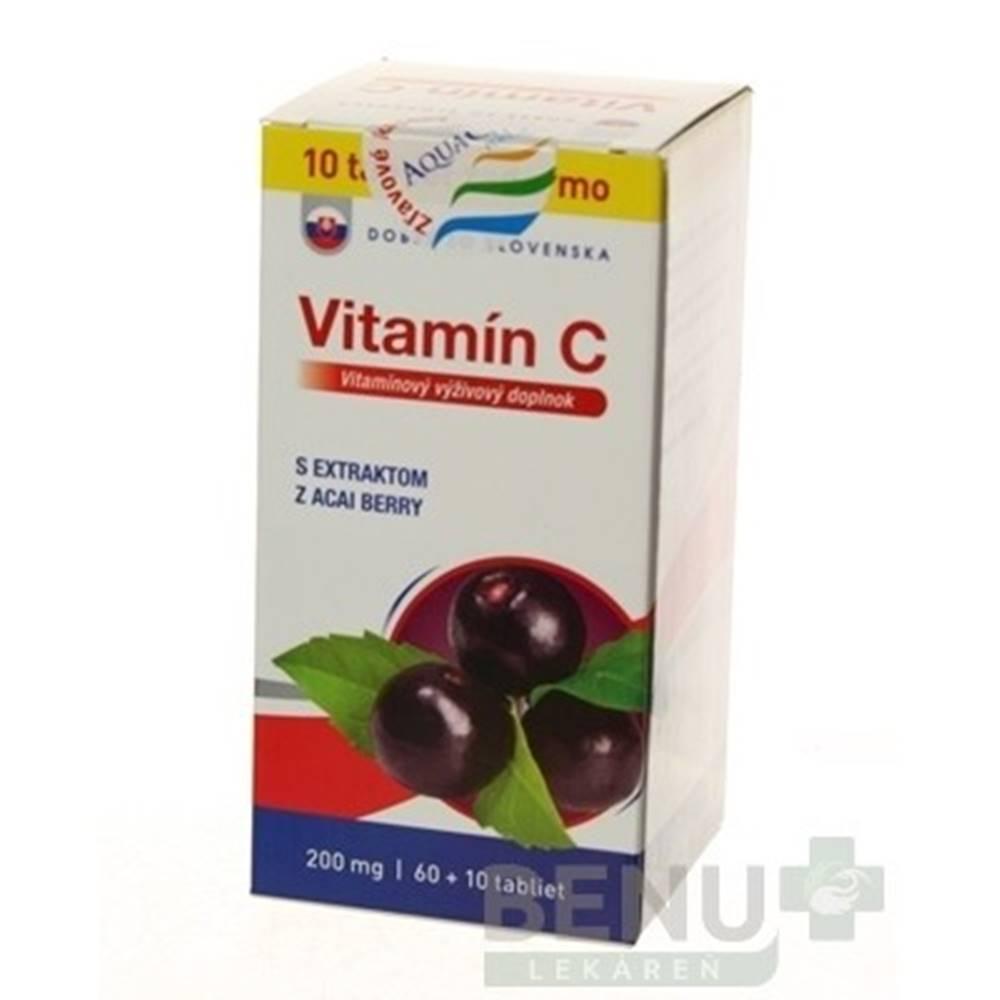 Dobré z SK DOBRÉ Z SK Vitamín C 200 mg príchuť acai 60 + 10 tabliet ZADARMO