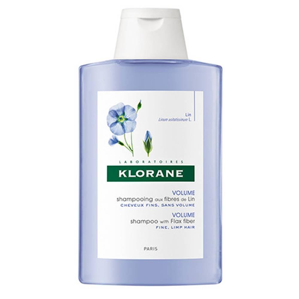 Klorane KLORANE Šampón s ľanovými vláknami 200 ml