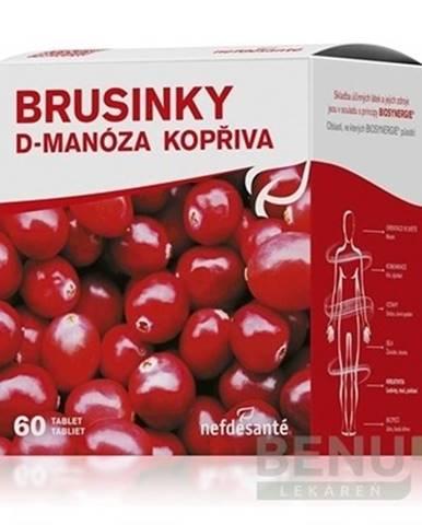 NEFDESANTĚ Brusnice D-manóza žihľava 60 tabliet