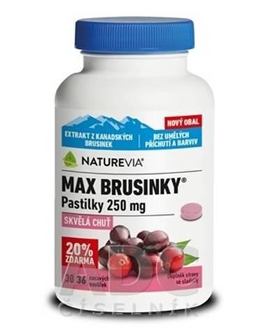 SWISS NATUREVIA Max brusnice 250 mg 36 pastiliek