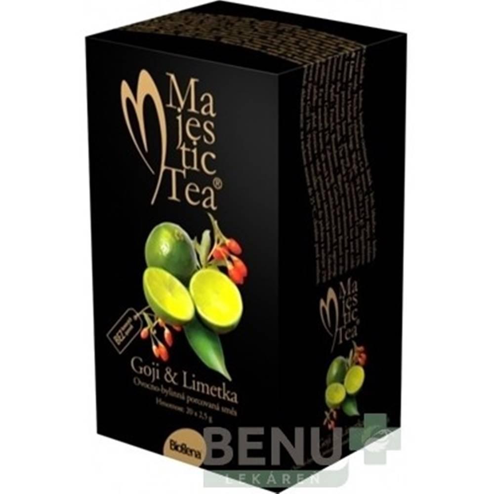 BIOGENA BIOGENA Majestic tea goji & limetka 20 x 2g