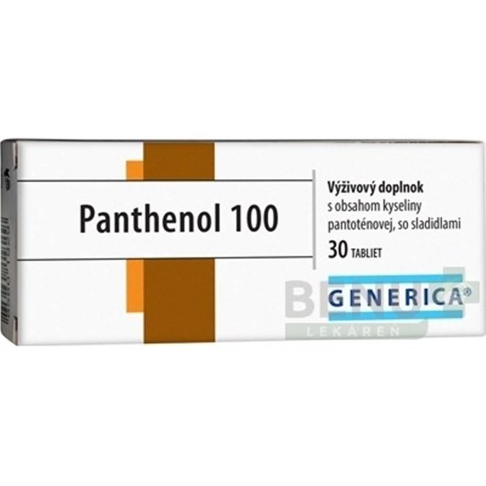 Generica GENERICA Panthenol 100 30 tabliet