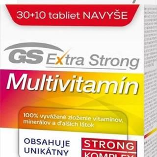 GS Extra Strong Multivitamín 2017