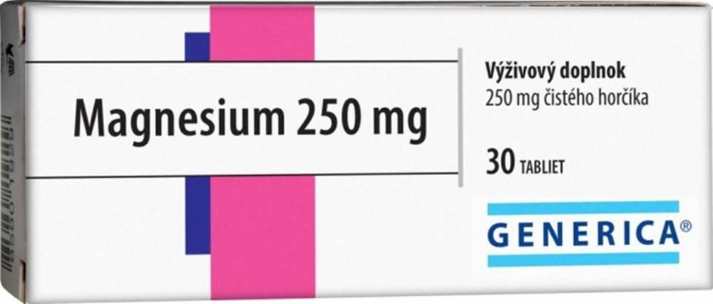 Generica GENERICA Magnesium 250 mg