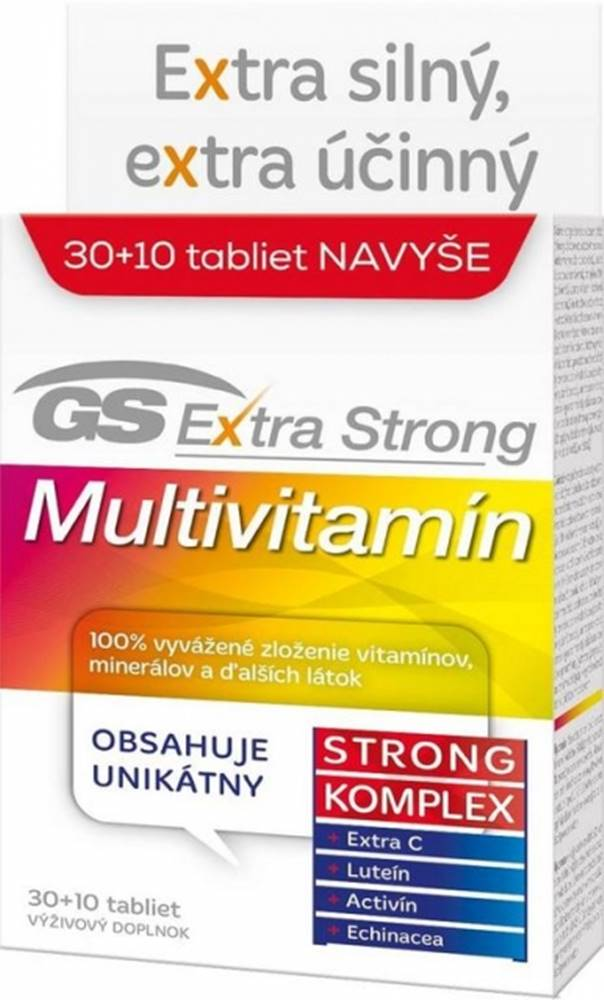 GS Gs Extra strong multivitamín 2017