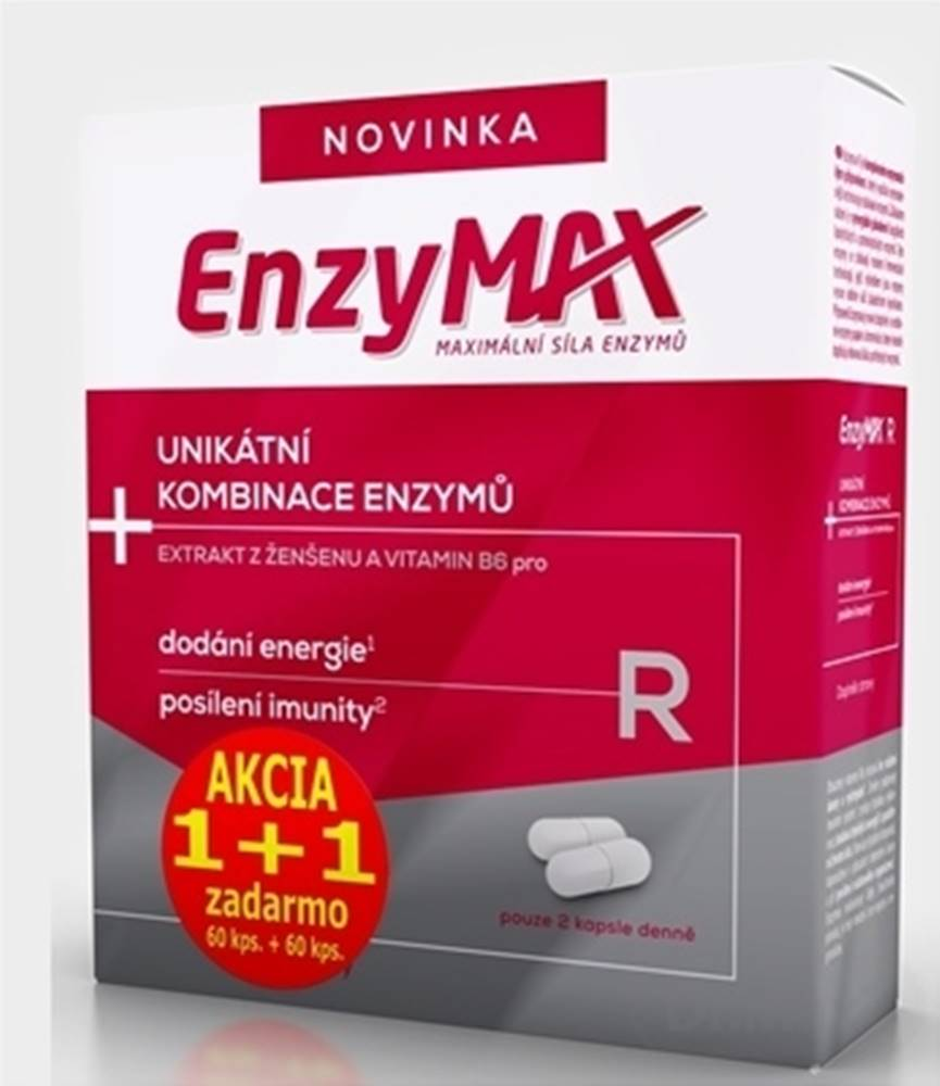 EnzyMAX Enzymax R akcia 1+1