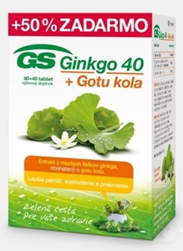 GS GS Ginkgo 40 + Gotu kola
