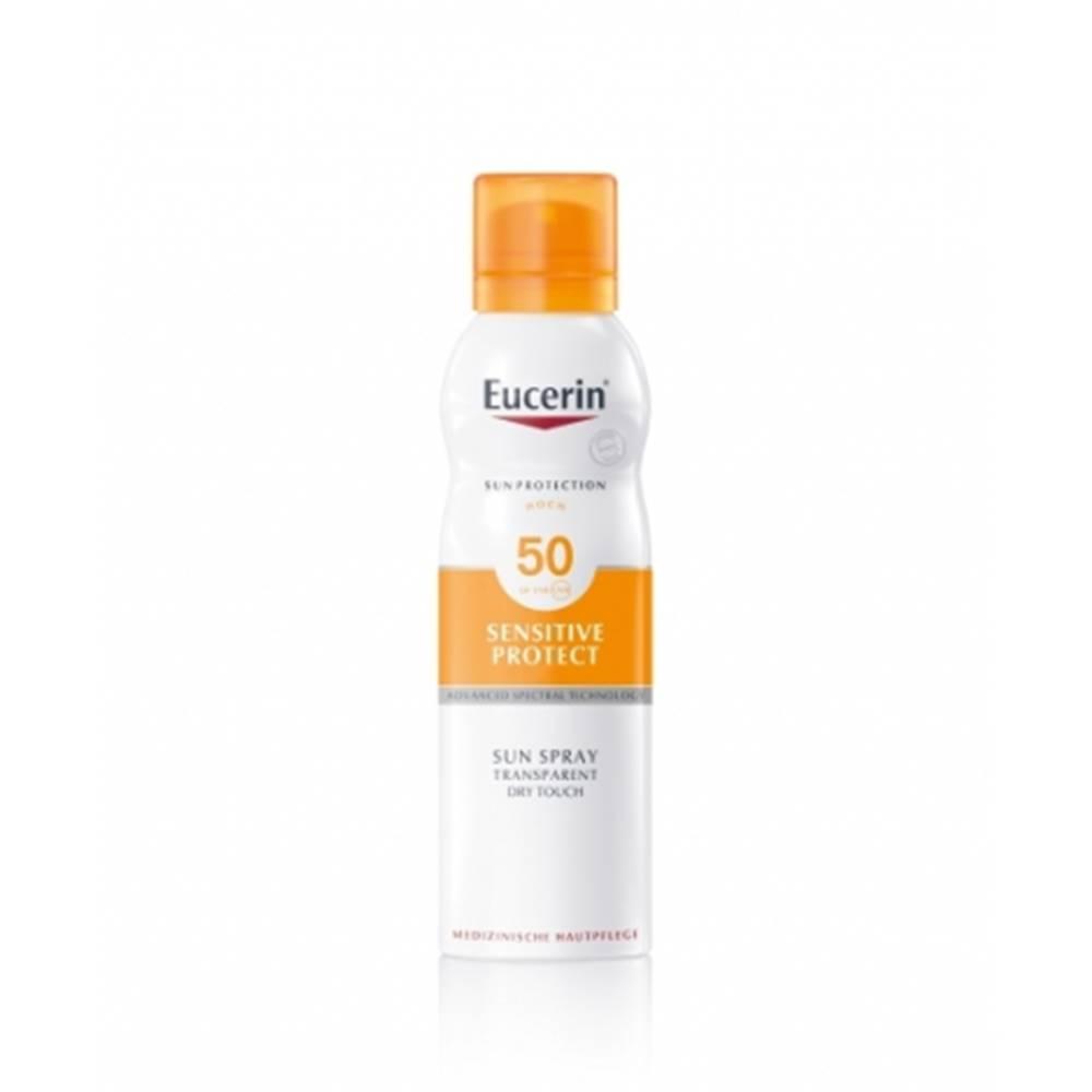 Beiersdorf Eucerin Transparentný sprej na opaľovanie Dry Touch SPF 50