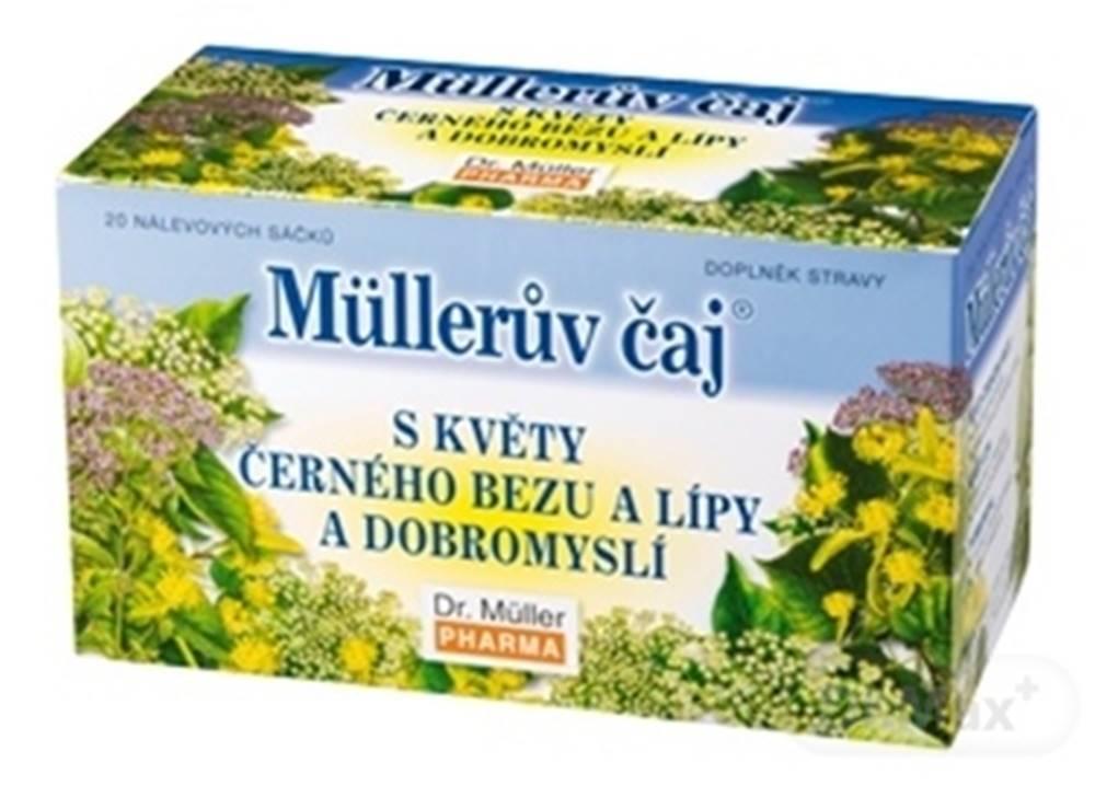 Dr.Muller Müllerov čaj s kvetmi bazy, lipy a pamajoranom