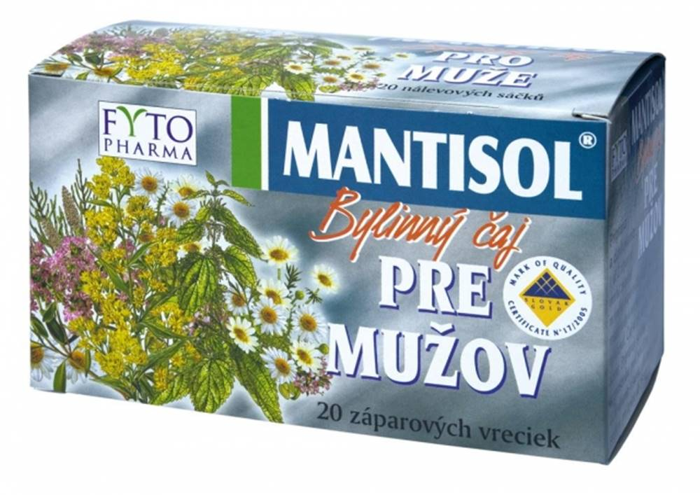 Fytopharma FYTO MANTISOL Bylinný čaj PRE MUŽOV