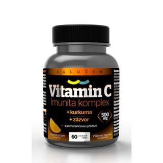 SALUTEM Vitamín C 500 mg Imunita komplex 60 cmúľacích tabliet
