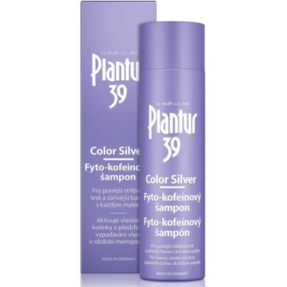 PLANTUR Plantur 39 Color Silver Fyto-kofeínový šampón 250 ml