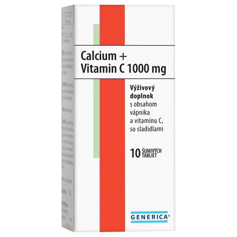 Generica GENERICA Calcium + Vitamin C 1000 mg