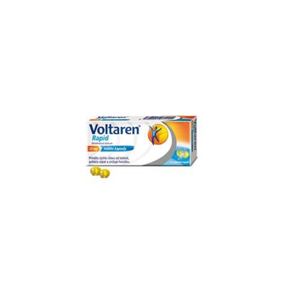 Glaxo Smith Kline Voltaren Rapid 25 mg 10 mäkkých kapsúl