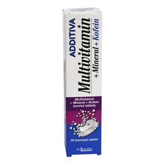 Additiva MultivitamÍn + minerál + kofein
