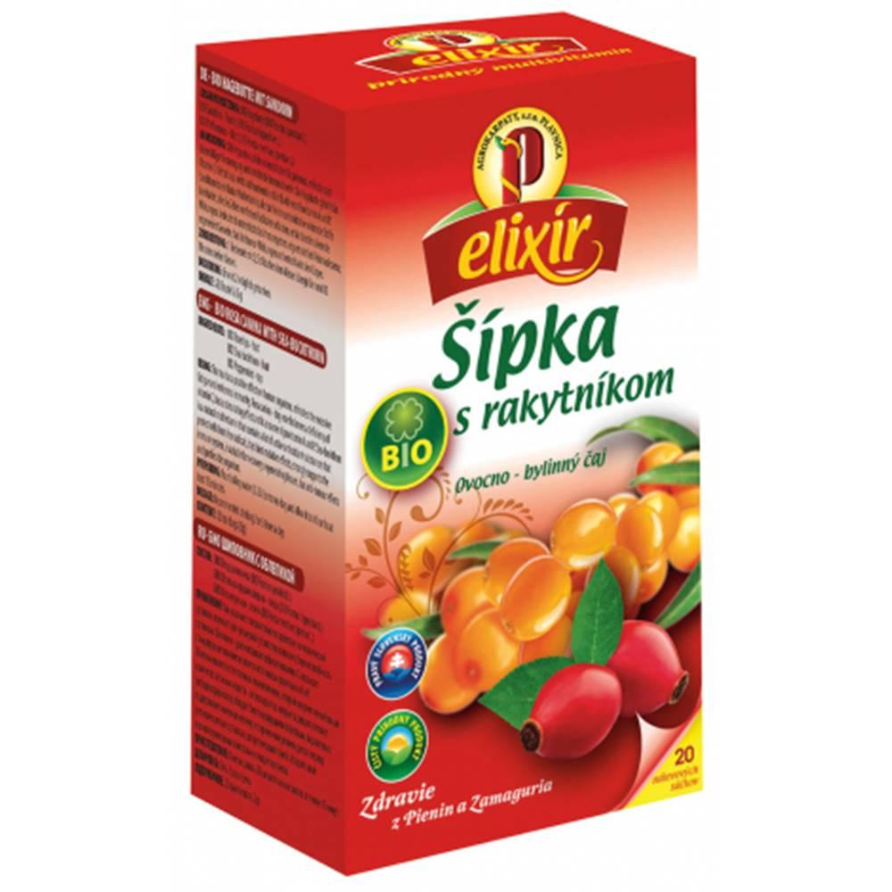 AGROKARPATY, s.r.o. Plavnica (SVK) AGROKARPATY BIO Šípka s Rakytníkom ovocno - bylinný čaj 20x1,5 g (30 g)