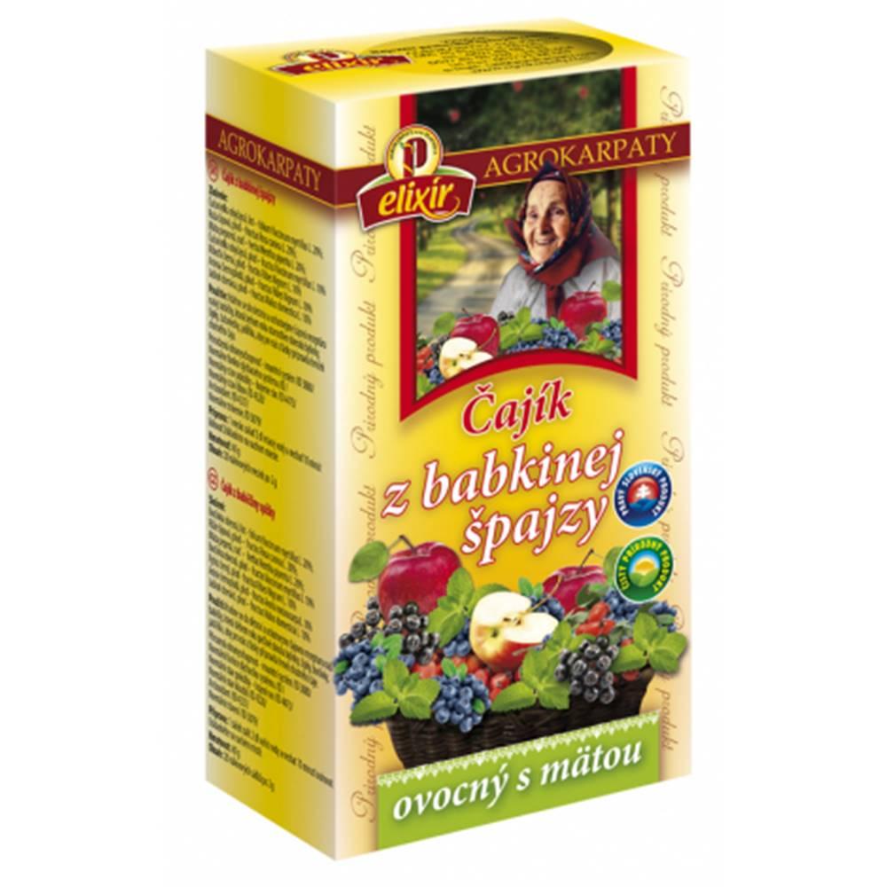 AGROKARPATY, s.r.o. Plavnica (SVK) AGROKARPATY Čajík z babkinej špajzy ovocný s mätou 20x2 g (40 g)