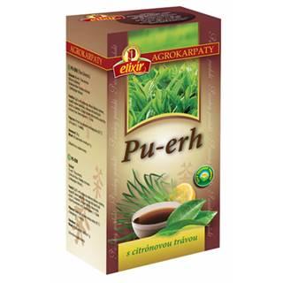 AGROKARPATY PU-ERH s citrónovou trávou čaj 20x1 g (20 g)