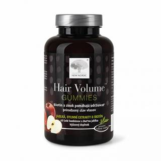 NEW NORDIC HAIR VOLUME GUMMIES želé 60 ks