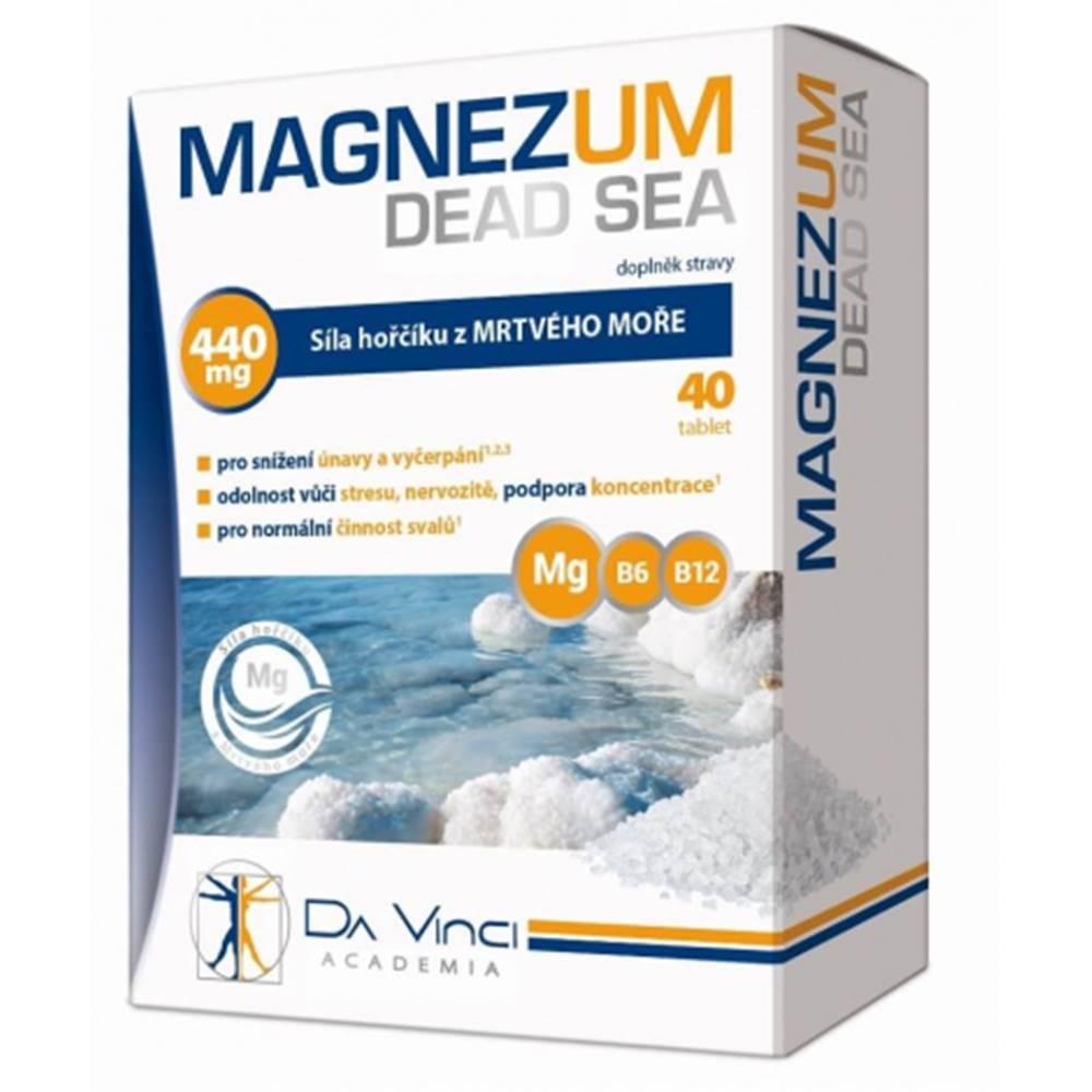 Simply you pharmaceuticals DA VINCI MAGNEZUM DEAD SEA 40 tbl