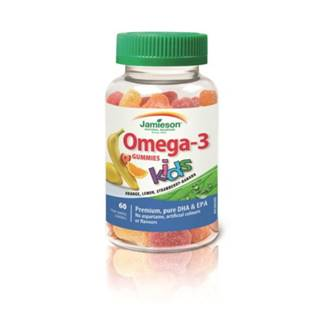 JAMIESON Omega 3-kids gummies 60 želatínových pastiliek