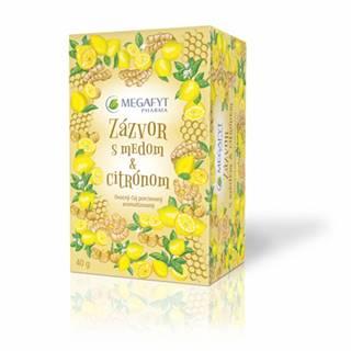 Megafyt Zázvor s medom a citrónom 20x2 g (40 g)