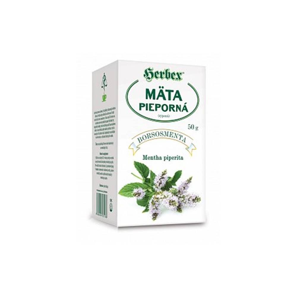 Herbex, s. r. o. Herbex Mäta pieporná sypaný čaj 50 g