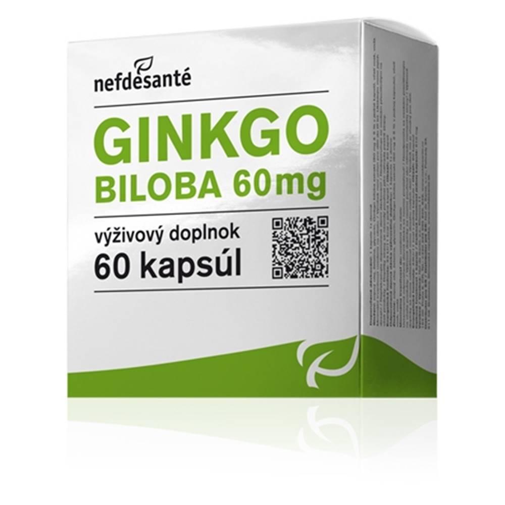 Nef de Santé, s.r.o. nefdesanté GINKGO BILOBA 60 mg 60 cps