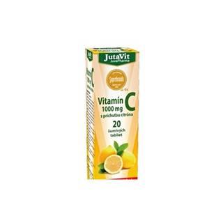 JutaVit Vitamín C 1000 mg 20 šumivých tabliet