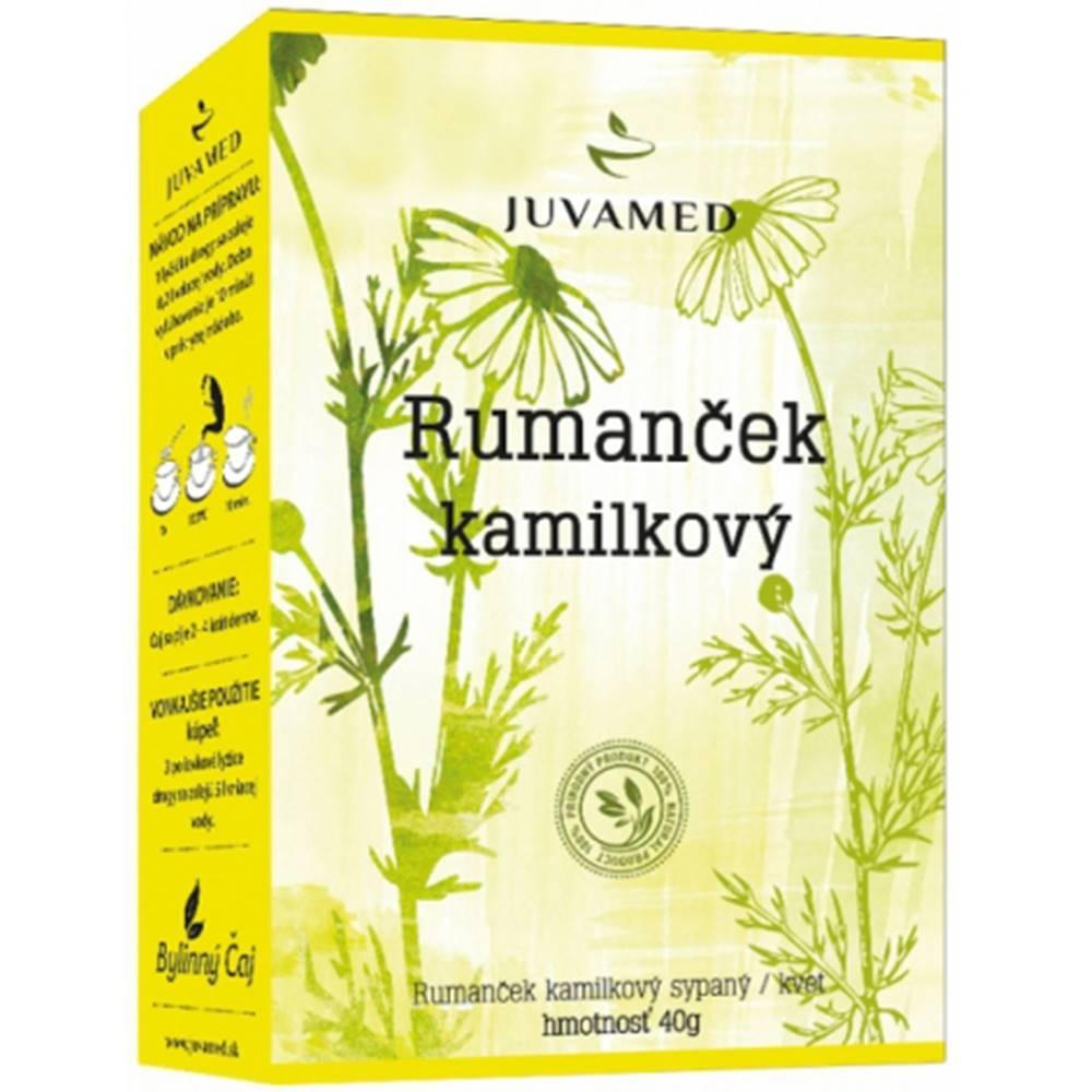 Juvamed Juvamed RUMANČEK KAMILKOVÝ - KVET sypaný čaj 40 g