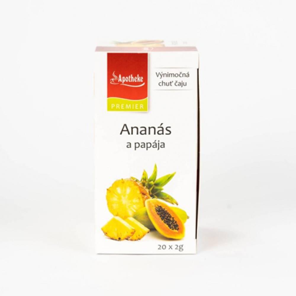 APOTHEKE čaj ananás+papája ...