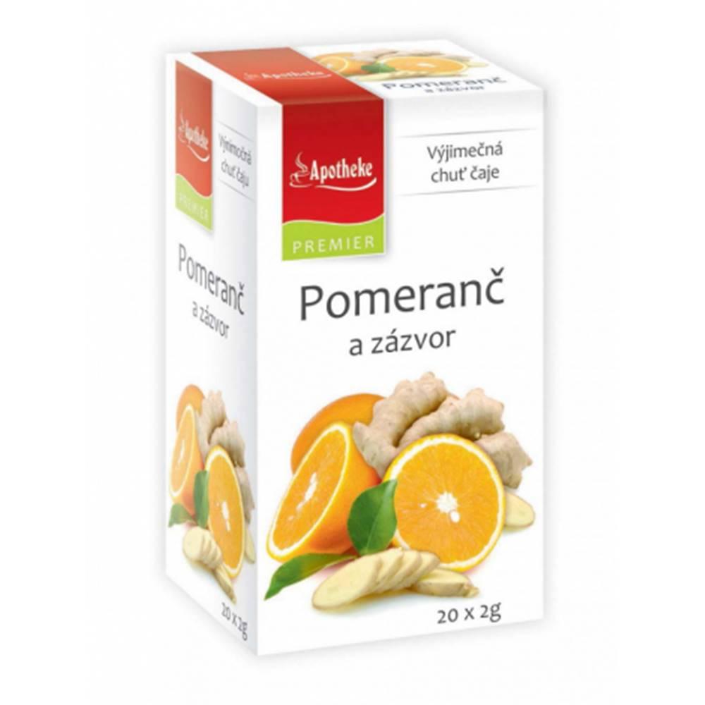 MEDIATE s.r.o. APOTHEKE čaj Pomaranč a zázvor N.S.